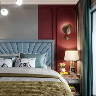 130平米三法式风格卧室装修效果图