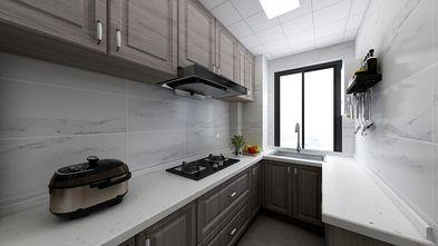 富裕型90平米三室一厅中式风格厨房图片大全