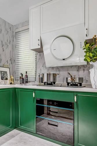 三室一厅轻奢风格厨房装修案例