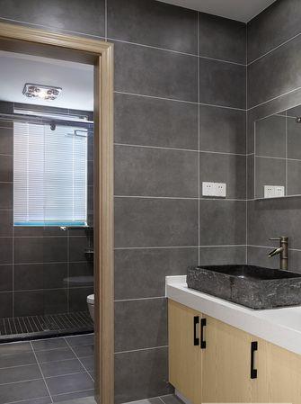 富裕型90平米三室一厅美式风格卫生间图片