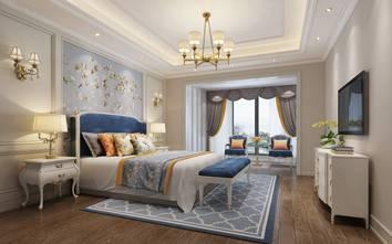 120平米一室两厅欧式风格卧室图