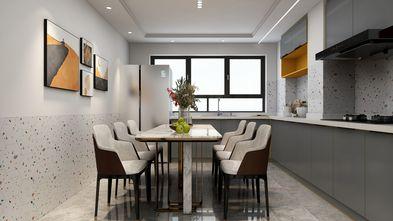5-10万60平米复式现代简约风格餐厅设计图
