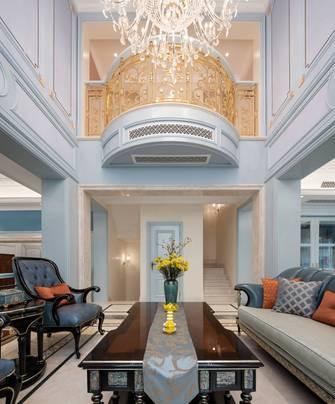 140平米四欧式风格客厅装修图片大全