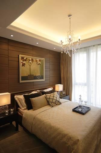 富裕型100平米三室一厅新古典风格卧室欣赏图