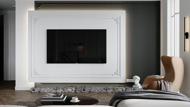 120平米三室一厅欧式风格客厅装修案例