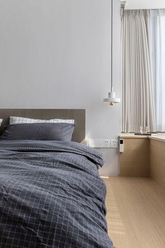 富裕型130平米三室三厅现代简约风格卧室图片