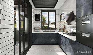 20万以上140平米四工业风风格厨房欣赏图