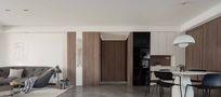 140平米四室一厅北欧风格客厅图