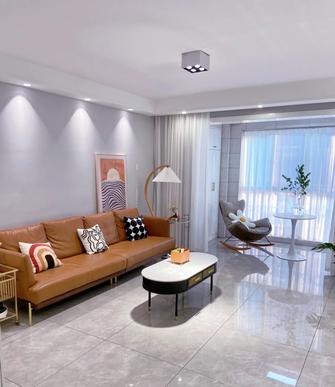 60平米法式风格客厅图