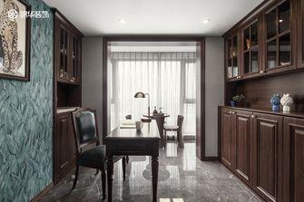 140平米三室四厅欧式风格书房设计图