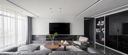 20万以上140平米四室三厅轻奢风格客厅图