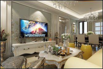 富裕型120平米三室一厅欧式风格客厅效果图