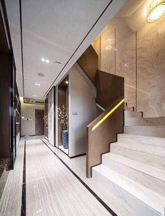 20万以上140平米别墅中式风格楼梯间图