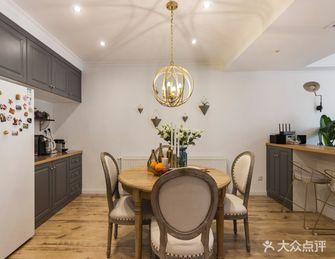 经济型120平米三现代简约风格餐厅欣赏图