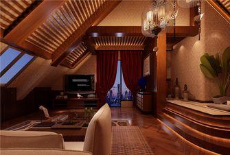 90平米一室一厅东南亚风格客厅装修案例