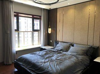 140平米三室三厅轻奢风格卧室图片大全