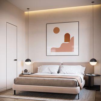 3-5万30平米小户型北欧风格卧室设计图