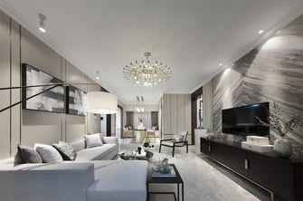 豪华型110平米三室一厅中式风格客厅装修效果图