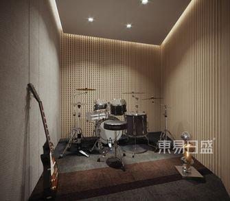 140平米四现代简约风格影音室图