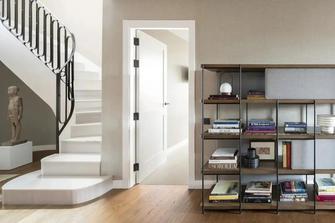 20万以上140平米别墅现代简约风格楼梯间图