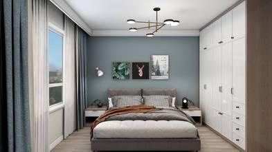 5-10万120平米三室两厅北欧风格卧室装修案例