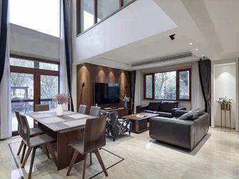 20万以上140平米别墅现代简约风格客厅装修图片大全