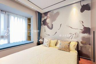 140平米三中式风格卧室欣赏图