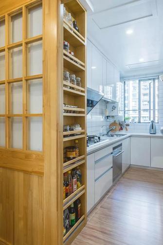5-10万120平米三室两厅日式风格厨房效果图