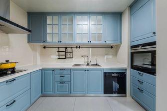 110平米三室一厅美式风格厨房装修效果图