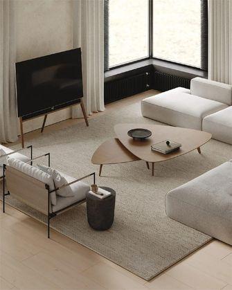 富裕型140平米三室两厅混搭风格客厅装修图片大全