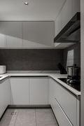 20万以上140平米三室两厅现代简约风格厨房欣赏图