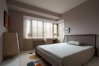 120平米三室三厅日式风格卧室欣赏图