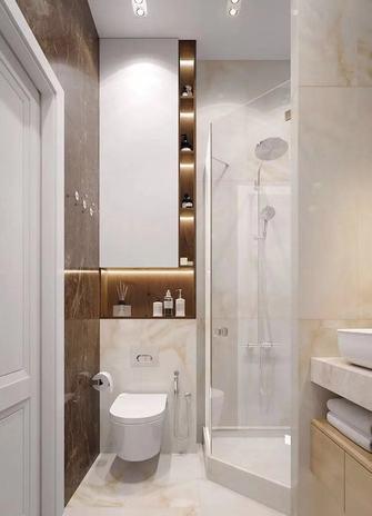 60平米公寓新古典风格卫生间欣赏图