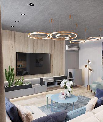 富裕型120平米三欧式风格客厅装修图片大全