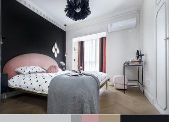20万以上110平米三室两厅法式风格卧室图片