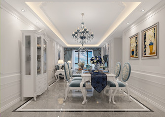 10-15万140平米四室两厅欧式风格餐厅设计图