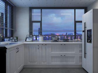 富裕型140平米欧式风格厨房图片大全