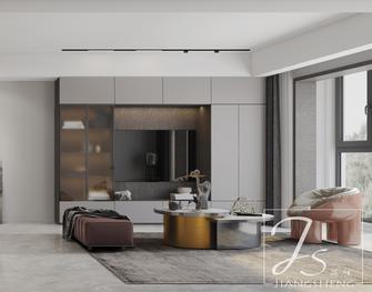富裕型120平米三室一厅轻奢风格客厅装修案例