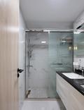 10-15万100平米三室两厅现代简约风格卫生间装修效果图