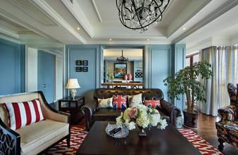豪华型130平米四美式风格客厅效果图