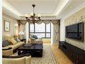 10-15万140平米三室一厅田园风格客厅效果图