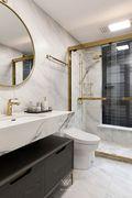 豪华型130平米三室两厅法式风格卫生间图