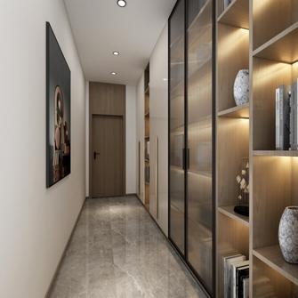 20万以上140平米三室两厅轻奢风格走廊图片大全