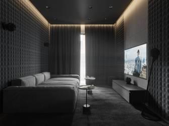 140平米现代简约风格影音室装修案例