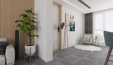 富裕型120平米三室一厅北欧风格玄关装修案例