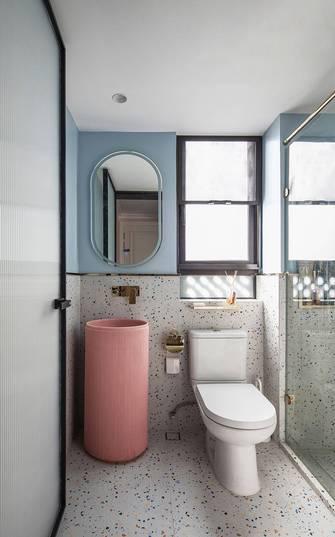 富裕型100平米三室两厅法式风格卫生间效果图