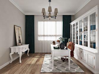 120平米三室两厅美式风格书房效果图