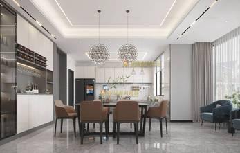 140平米别墅轻奢风格餐厅装修案例