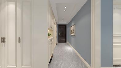 20万以上80平米三美式风格走廊设计图