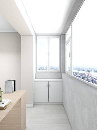 富裕型50平米一室一厅现代简约风格阳台装修案例